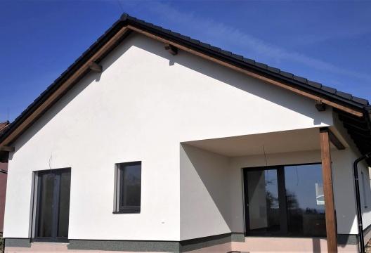 foto montovaného domu na klíč Vysočina