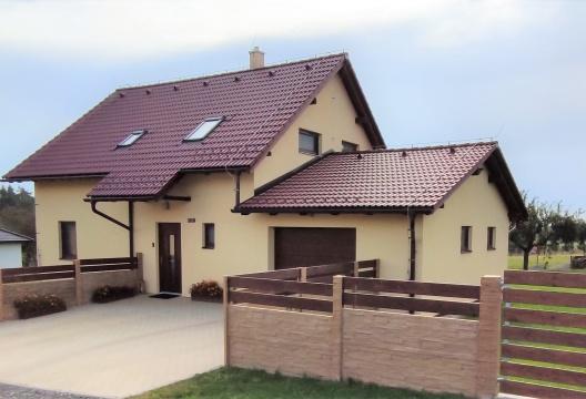 Dřevostavba na Vysočině na klíč, nízkoenergetický montovaný dům