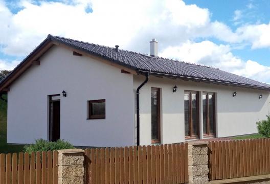 foto dřevostavby Kolín - rodinný montovaný dům,na klíč od ENTONI Vysočina (kraj Středočeský)