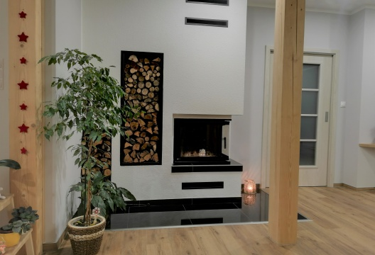 interiér montovaného domu na klíč od ENTONI